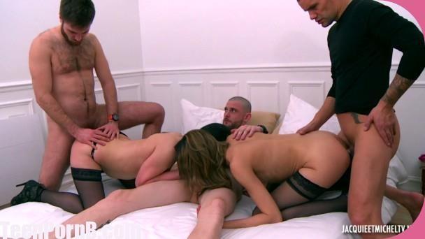 Sonia, Jennifer Sonia et Jennifer, partouze folle French Porn