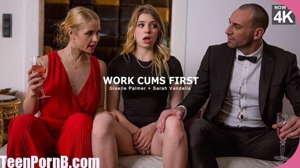 StepMomLessons Giselle Palmer, Sarah Vandella Work Cums First