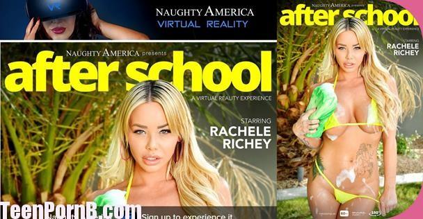 Rachele Richey,After School Virtual Reality, VR Porn