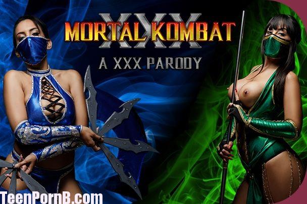 Mortal Kombat Sex - Katrina Moreno, Alba De Silva Mortal Kombat XXX Parody ...