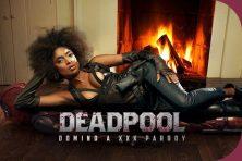 Luna Corazon Deadpool: Domino A XXX Parody Virtual Reality