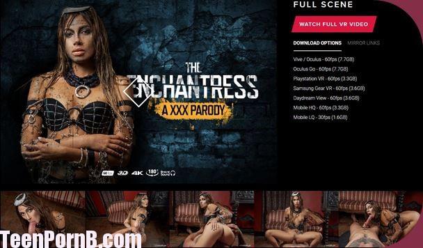 Baby Nicols The Enchantress A XXX Parody Virtual Reality