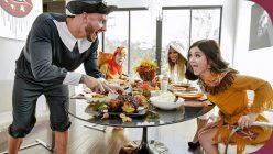 FamilyStrokes Brooklyn Chase, Rosalyn Sphinx Thanksgiving Snatch Stuffing