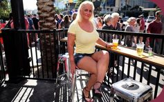 MomPov Kathy Busty blonde MILF nurses cock