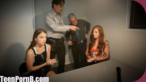 DaughterSwap Izzy Lush, Scarlett Mae Interrogation Penetration Pt.1