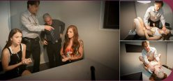 DaughterSwap Scarlett Mae, Izzy Lush Interrogation Penetration Part 2