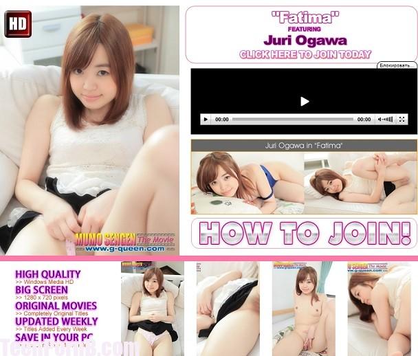 G-Queen Japanese Juri Ogawa Fatima UNCEN 572