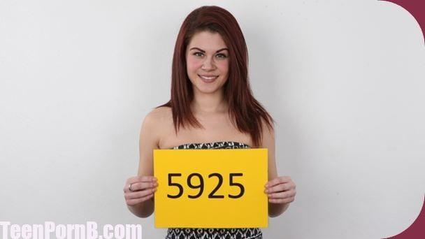 CzechCasting Anna 5925 Brunette Czech Casting