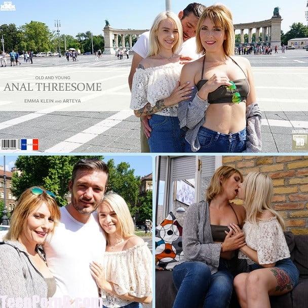 Milf Teacher Teen Threesome
