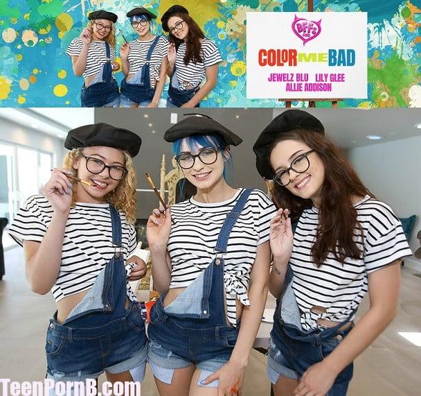 BFFS Lily Glee, Jewelz Blu, Allie Addison Color Me Bad
