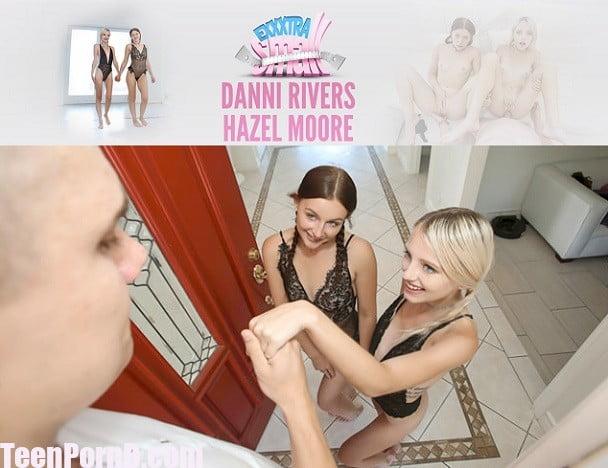 ExxxtraSmall Danni Rivers, Kate Bloom Petite Pigtail Princesses