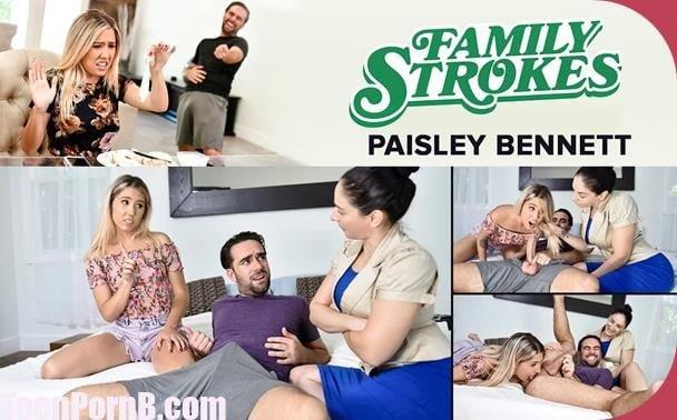 FamilyStrokes Paisley Bennett Supervised Stepsibling Sex
