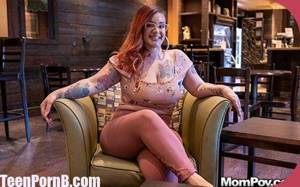 big breast tattooed german milf loves rough pov