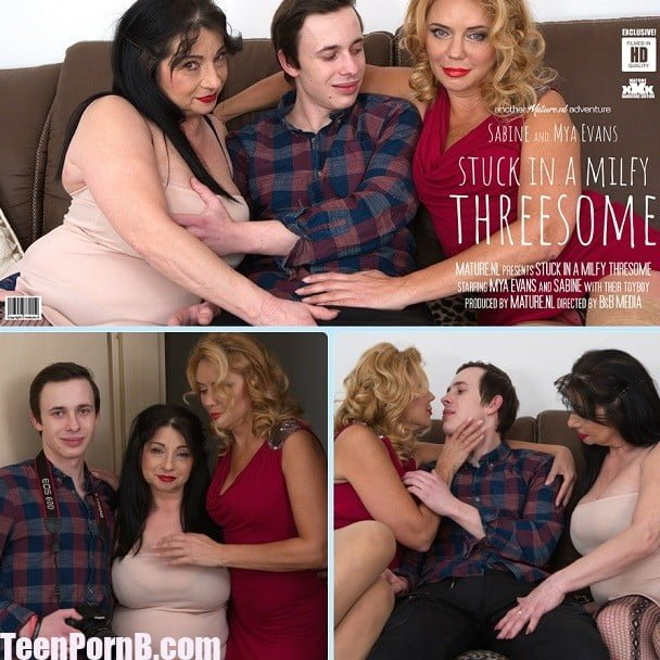 Amateur Milf Teen Threesome